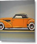 Cord 810 1937 Painting Metal Print
