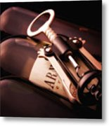 Corkscrew Metal Print by Tom Mc Nemar