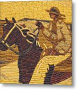Corn Art At Corn Palace 01 Metal Print