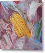 Corn Maize Metal Print