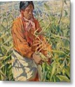 Corn Picker 1915 Metal Print