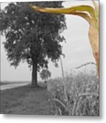 Corn Tree Metal Print