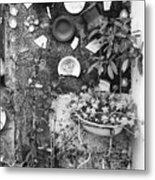 Corner Garden - Sao Miguel - Azores Metal Print