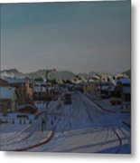 Corner Of 157th St. And 168th Ave. Metal Print