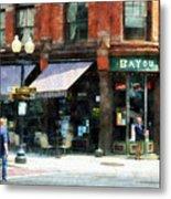 Corner Of Columbia And Pearl Albany Ny Metal Print