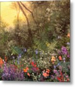 Corner Of The Garden Metal Print