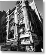 Corner Store In The City Metal Print