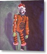 Cornered Marionette Strings Not Included Metal Print