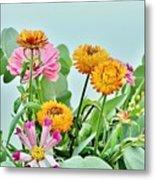 Cornflowers 20 Metal Print