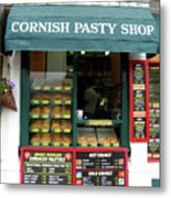 Cornish Pasty Shop Metal Print