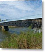 Cornish-windsor Bridge Metal Print