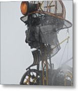 Cornwall Man Engine Metal Print