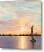 Coronado Bridge Sunset  B Metal Print