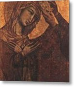 Coronation Of The Virgin 1311 Metal Print