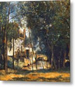 Corot - The Mill Metal Print