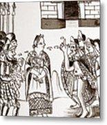 Cortes & Montezuma, 1519 Metal Print