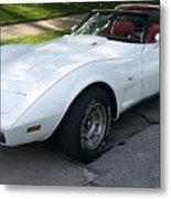Corvette 1 Metal Print