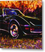 Corvette Beauty Metal Print