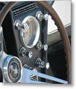 Corvette Console Metal Print