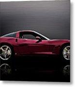 Corvette Reflections Metal Print