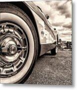 Corvette Rim Metal Print