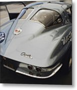 Corvette Split Window Metal Print
