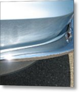 Corvette Waves Metal Print