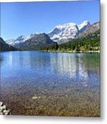 Cosley Lake Outlet - Glacier National Park Metal Print