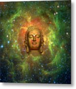 Cosmic Buddha Metal Print