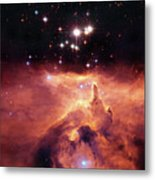 Cosmic Cave Metal Print by Jennifer Rondinelli Reilly - Fine Art Photography