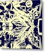 Cosmic Children In Space Metal Print