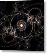 Cosmic Clockworks Metal Print