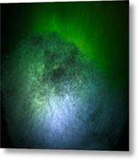 Cosmic Comet Metal Print