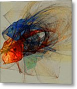 Cosmic Fish Metal Print
