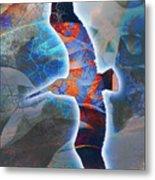 Cosmic Flyer Metal Print