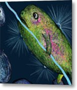 Cosmic Lifeforms Metal Print