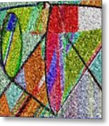 Cosmic Lifeways Mosaic Metal Print
