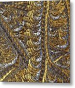 Cosmic Patterns - Hoarfrost Metal Print