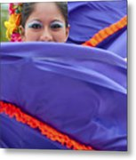 Costa Maya Dancer II Metal Print