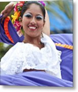 Costa Maya Dancer Metal Print