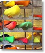 Costa Rica Kayaks Metal Print