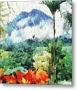 Costa Rica Paradise Metal Print