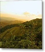 Costa Rica Rolling Hills 2 Metal Print