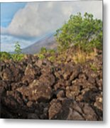 Costa Rica Volcanic Rock II Metal Print