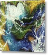 Costal Storm Metal Print