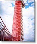 Cota Towering Tower  Metal Print