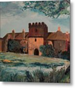 Cotehele Manor House Metal Print