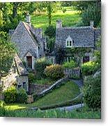 Cotswold Cottages Metal Print