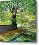 Cotswold Lane  Metal Print