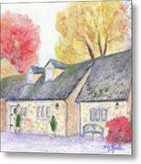 Cotswolds Cottage Metal Print